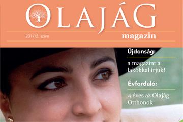 Olajág Magazin - 2017 nyár