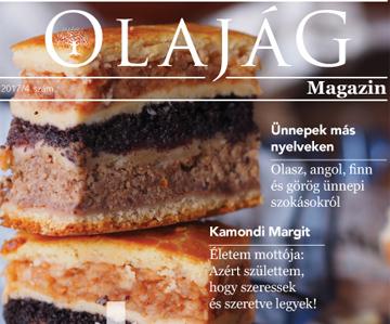 Olajág Magazin – 2017 Tél