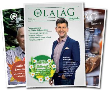 Olajág Magazin – 2018 Tavasz