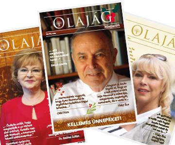 Olajág Magazin – 2019 Tél