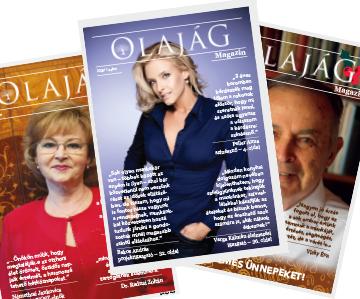 Olajág Magazin – 2020 Tavasz