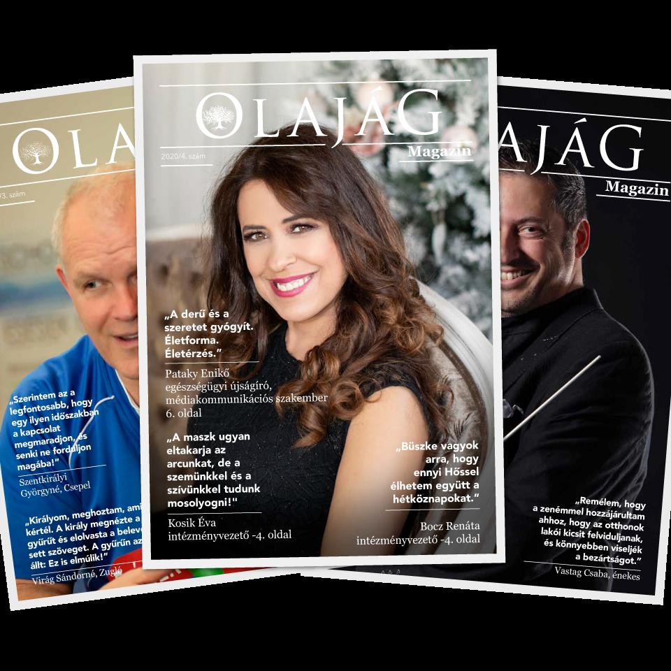 Olajág Magazin – 2020 Tél
