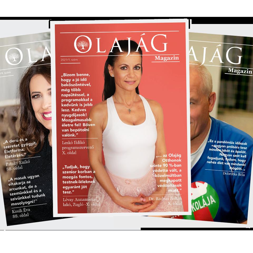 Olajág Magazin – 2021 Tavasz